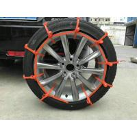 Self-locking Car Anti-Slip Tire Nylon Cable Ties for Snow Ice Weathers Safety Protection Manufactures