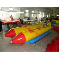 cheap inflatable boat inflatable water banana boat inflatable banana boat Manufactures