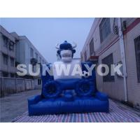 Wear Resistant Panda Bowlers Inflatable Obstacle Course for fun With EN14960 Manufactures