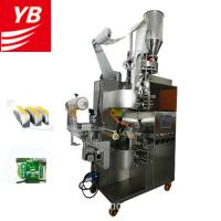 YB-180C Automatic Vertical Automatic Filter Tea Bag Packing Machine with inner and Outer Envelope Manufactures