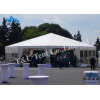 UV Protected Bell Tent Party Events , Modern Style Enclosed Party Tent Manufactures