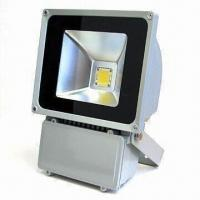 LED Floodlight with 85 to 265V AC Voltage, 50,000-hour Lifespan and 90W Power Manufactures