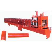 Red Color Smart Sheet Metal Forming Equipment With High Capacity Manual Uncoiler Manufactures