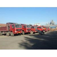 2015 made in china 6*4 10 Tires Sinotruck Howo tipper brakes service dump truck front axles  high tensile strength steel