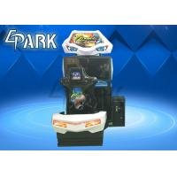 Hardware , Acrylic Material Driving Car Racing Game Machine For Children Manufactures