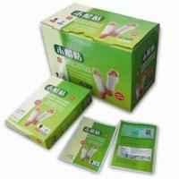 China Wood Vinegar Detox Foot Patch on sale
