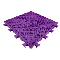 Buy cheap Traditional Double Tier Pattern Temporary Sports Flooring , Multicolor Outdoor Sports Flooring from wholesalers