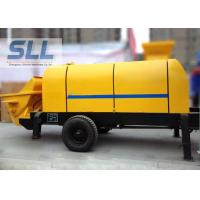 Various Colors Electric Concrete Pump , Small Portable Concrete Pump Manufactures
