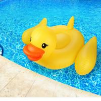 "Adults & Kids Yellow Duck Pool Raft Huge 80"" Rubber Duck Inflatables Pool Float Manufactures"