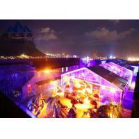 Long Life Span Large Outdoor Party Tents , Marquee Tent Wedding With Optional Accessories Manufactures