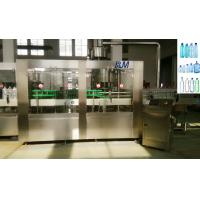 Mineral / Drinking water Plastic Bottle Filling Machine With Screw / Sport Cap Manufactures