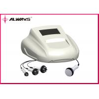 Quality Fat Cavitation RF Beauty Machine For Cellulite Removal , 3 / 4 / 6 Polar RF for sale