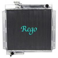 High Polished Aluminum Auto Car Radiators For Land Cruiser 90 Hzj75 Manual Manufactures
