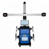 China SM-919 Blue Color Automatic Tracking Target Wheel Aligner Good Price 3d Wheel Alignment Machine on sale