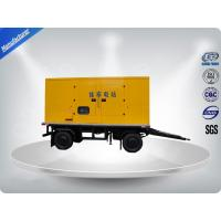 750Kva 50 Hz 3 Phase Silent Trailer Mounted Generator With Mecc - Alte Alternator Manufactures