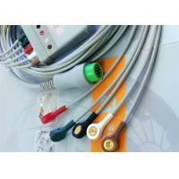 12 Pin 5 Leads One Piece ECG Cable Monitor Connector Cable Compatible Mindray Manufactures