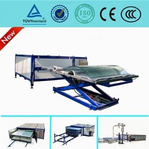 Heat Glass Lamination Machine , Automatic Vacuum Laminating Machine For Glass Curtain Wall Manufactures