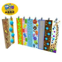 Outdoor Plastic Amusement Park Climbing Wall Holds 1 Years Warranty Manufactures
