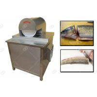 Stainless Steel Meat Processing Machine , Fish Head Cutting Machine High Efficiency Manufactures