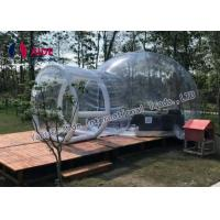 Quality Holley Web Inflatable Bubble Tent Outdoor Transparent Bubble Tent for sale