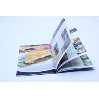 Quality Glue Binding CookBook Printing With Spot UV , Recycled Glossy Art Paper for sale