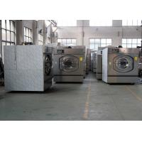 China Front Load Commercial Washing Machine With Electric Heating 30 Kg Capacity on sale