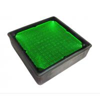 Quality 8x8 inch Square Solar Pathway Recessed Lights Solar Underground In-Ground Lamp for sale