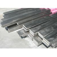 Quality ASTM 316 / 201 / 430 Stainless Steel Flat Bar With Mill Edge And Slit Edge for sale