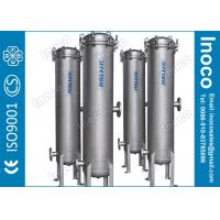 BOCIN DN15 - DN600 Industrial Cartridge Filters / Multi Cartridge Liquid Filtration CE Manufactures