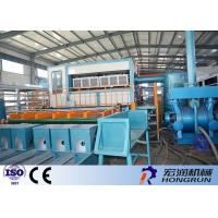 Waste Paper Raw Material Apple Tray Making Machine / Egg Tray Forming Machine Manufactures