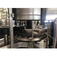 Buy cheap 380V Automatic Beer Bottle Cold Glue Labeling Machine 3000KGS Bottle Labeling Equipment from wholesalers