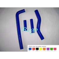 Custom Molded Silicone Radiator Hoses Replacement Oil Resistant Blue Color Manufactures