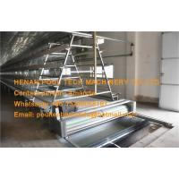 Quality Poultry Farm Hot Galvanized Cage A Frame Automatic Baby Chicken Cage Equipment for sale