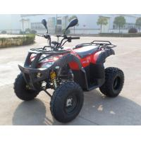 Red Two Seats EEC ATV Chain Drive with Double Feet Pedal Manufactures