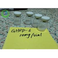 Pharmaceutical 98% min Peptides Ghrp-6 5mg/vial 10mg/vial CAS 87616-84-0 Manufactures