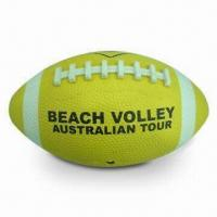Junior Rubber American Football with CE Mark, Suitable for Young Ages 10 to 14yrs-old Manufactures