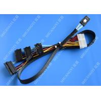 Serial Attached SCSI SAS SFF 8087 TO SFF 8482 Cable 28AWG Multi – Port Length 65cm Manufactures
