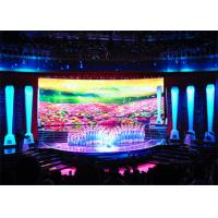 Buy cheap Mobile Portable LED Backdrop Screen Rental , P4 Indoor LED Display Board Full from wholesalers