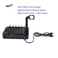 Multi Device 6 Port 5.0v 8.8a Usb Charging Station Apple Android Ipad Iwatch Use Manufactures
