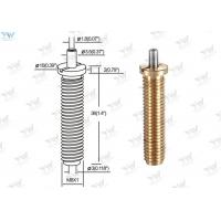 Quality Precision M 8 Fully Threaded Brass Cable Gripper / Aircraft Cable Adjustable Fittings for sale