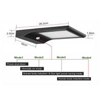 Durable Sensitive Wireless Led Outdoor Light 1500lm Integrated For Motion Activated Manufactures