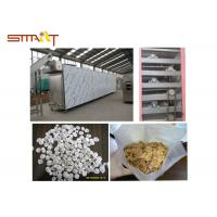 Breakfast Cereal / Corn Flakes Two Screw Extruder , SS Food Grade Extruder Manufactures