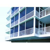 China Powder Coating Finish Aluminum Deck Railing Systems Picket Railing Design For Home on sale