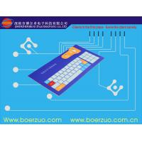 Light / Thin Flexible Push Button Membrane Switch For Analytic Instrument Manufactures