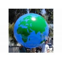 Helium PVC Air Tight Earth Balloon Advertising Inflatable Sphere Ball Manufactures