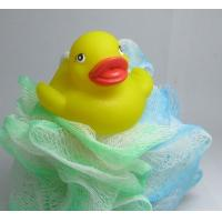 Quality Eco - Friendly Vinyl Yellow Baby Rubber Duck Washing Ball For Kids Bath Time for sale