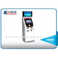 Cash Acceptor Moving Self Service Ticket Vending Machines With Thermal Printer Manufactures