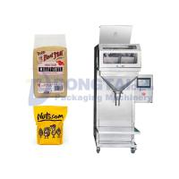 China Semi-automatic food granule packing machine Granule packing machine quantitative bagging machine on sale