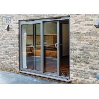 Custom Aluminium Sliding Patio Doors Weather Proof and Sound Proof Manufactures