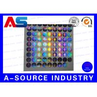 Buy cheap Silver Security Custom Holographic Stickers Label Tamper Proof Seal Custom Design from wholesalers
